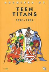 Teen Titans (Archives DC) -2- 1981-1982