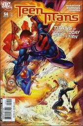 Teen Titans (2003) -54- The titans of tomorrow...today, part four: fight the future