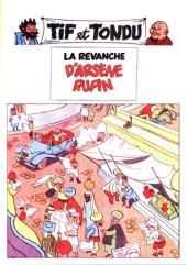 Tif et Tondu -Pir2- La Revanche d'Arsène Rupin
