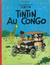 Tintin (Historique) -2B29- Tintin au Congo