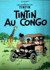 Tintin (Historique) -2C1- Tintin au Congo