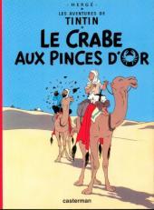 Tintin -9- Le Crabe aux pinces d'or