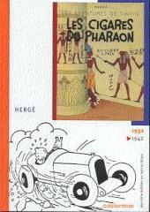 Tintin (Dernière édition en NB) -3- Les cigares du pharaon