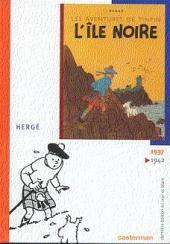 Tintin (Dernière édition en NB) -6- L'île noire