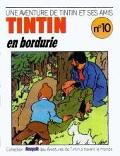 Tintin - Publicités -18Nes10- Une aventure de Tintin et ses amis : Tintin en Bordurie