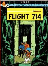 Tintin (The Adventures of) -22- Flight 714