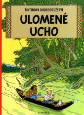 Tintin (en langues étrangères) -6Tchèque- Ulomené ucho