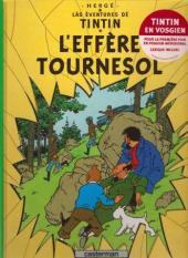 Tintin (en langues régionales) -18Vosgien- L'effère Tournesol