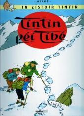 Tintin (en langues régionales) -20Réunionnai- Tintin péi Tibé