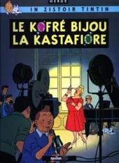 Tintin (en langues régionales) -21Réunionnai- Le kofré bijou la Kastafiore