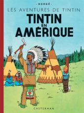 Tintin (Fac-similé couleurs) -3- Tintin en Amérique