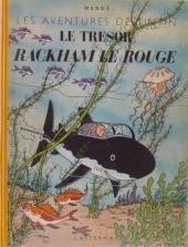 Tintin (Historique) -12B01- Le trésor de Rackham Le Rouge
