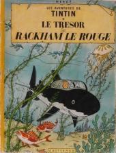 Tintin (Historique) -12B36- Le trésor de Rackham Le Rouge