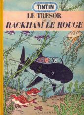 Tintin (Historique) -12B07- Le trésor de Rackham Le Rouge