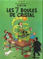 Tintin (Historique) -13C3- Les 7 boules de cristal
