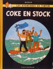 Tintin (Historique) -19B24-TT- Coke en stock