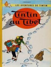 Tintin (Historique) -20B29TL- Tintin au Tibet