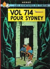 Tintin (Historique) -22C3bis- Vol 714 pour Sydney