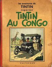 Tintin (Historique) -2A03- Tintin au Congo