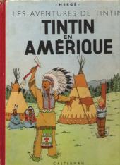 Tintin (Historique) -3B04- Tintin en Amérique