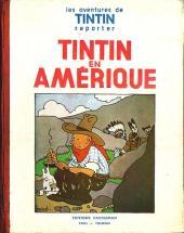 Tintin (Historique) -3A-P5- Tintin en Amérique