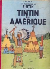 Tintin (Historique) -3B08- Tintin en Amérique