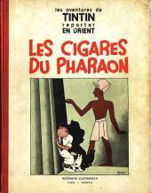Tintin (Historique) -4- Les cigares du pharaon