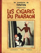 Tintin (Historique) -4A06- Les cigares du pharaon