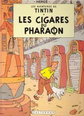 Tintin (Historique) -4C3- Les cigares du Pharaon