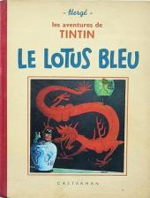Tintin (Historique) -5A09- Le Lotus bleu