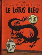Tintin (Historique) -5A18- Le lotus bleu