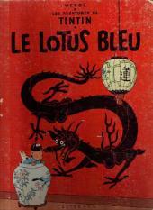 Tintin (Historique) -5B29- Le lotus bleu