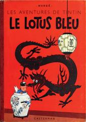 Tintin (Historique) -5B02- Le lotus bleu