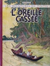 Tintin (Historique) -6A18- L'oreille cassée