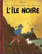 Tintin (Historique) -7A18- L'Île noire