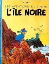 Tintin (Historique) -7A23Bis- L'Île noire
