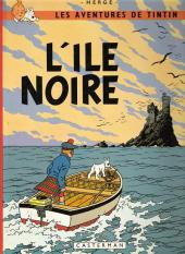 Tintin (Historique) -7C3- L'île noire