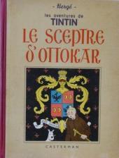 Tintin (Historique) -8A17- Le sceptre d'Ottokar