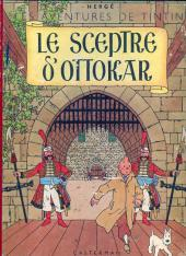 Tintin (Historique) -8B07- Le sceptre d'Ottokar
