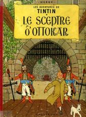 Tintin (Historique) -8B24- Le sceptre d'Ottokar
