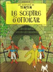 Tintin (Historique) -8C3- Le sceptre d'Ottokar