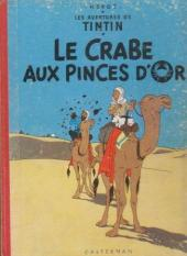 Tintin (Historique) -9B22- Le crabe aux pinces d'or