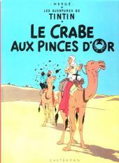 Tintin (Historique) -9C3- Le crabe aux pinces d'or
