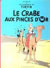 Tintin (Historique) -9C4- Le crabe aux pinces d'or