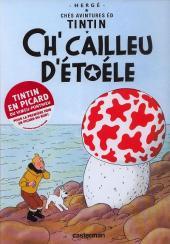 Tintin (en langues régionales) -10Picard- Ch'cailleu d'étoéle