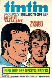 (Recueil) Tintin (Pocket Sélection) -27- Michel Vaillant Tommy Banco rien que des récits inédits