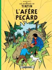 Tintin (en langues régionales) -18Arpitan- L'afére Pecârd