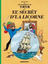 Tintin (en langues régionales) -11Tournaisie- El' sécrét d'la Licorne