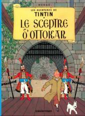 Tintin - Publicités -8Total- Le Sceptre d'Ottokar