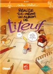 Titeuf (Publicitaire) - Réalise toi-même un album de Titeuf